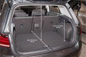 Volkswagen Golf 2016 - Размеры багажника