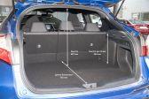 Toyota C-HR 201603 - Размеры багажника