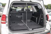 Kia Mohave 201704 - Размеры багажника