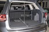 Volkswagen Teramont 201611 - Размеры багажника