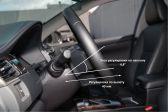 Toyota Camry 2017 - Внутренние размеры