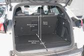 Peugeot 3008 201605 - Размеры багажника