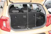 Kia Picanto 201705 - Размеры багажника