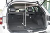 Renault Koleos 2016 - Размеры багажника