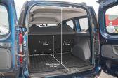 Renault Dokker 2012 - Размеры багажника