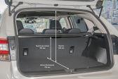 Subaru XV 2017 - Размеры багажника