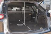 Mazda CX-9 201511 - Размеры багажника