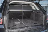 Land Rover Range Rover Sport 2017 - Размеры багажника