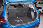 Kia Rio X-Line 201710 - Размеры багажника