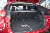Mitsubishi Eclipse Cross 201703 - Размеры багажника