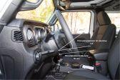 Jeep Wrangler 2017 - Внутренние размеры
