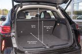 Infiniti QX50 201711 - Размеры багажника
