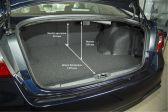 Subaru Legacy 2017 - Размеры багажника