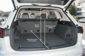Volkswagen Touareg 2018 - Размеры багажника