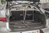 Jaguar I-Pace 2018 - Размеры багажника
