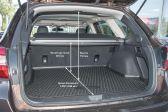 Subaru Outback 2017 - Размеры багажника
