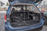 Subaru Forester 201803 - Размеры багажника