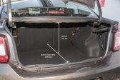 Renault Logan 201807 - Размеры багажника