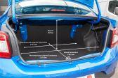 Renault Logan Stepway 2018 - Размеры багажника