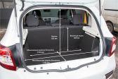 Renault Sandero Stepway 201808 - Размеры багажника