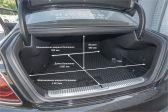 Kia K900 2018 - Размеры багажника