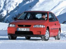 Mazda 323 рестайлинг 1996, хэтчбек 3 дв., 5 поколение, BA