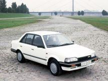 Mazda 323 рестайлинг 1987, седан, 3 поколение, BF