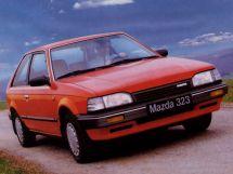 Mazda 323 рестайлинг 1987, хэтчбек 3 дв., 3 поколение, BF