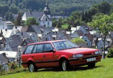 Mazda 323 2-й рестайлинг 1989, универсал, 3 поколение, BW