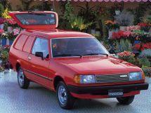 Mazda 323 2-й рестайлинг 1980, цельнометаллический фургон, 1 поколение, FA