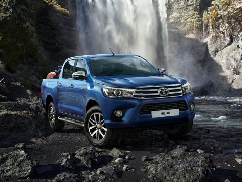 Toyota Hilux Pick Up (AN120) 05.2015 - 07.2020