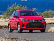 Toyota Yaris рестайлинг 2014, хэтчбек 3 дв., 3 поколение, XP130