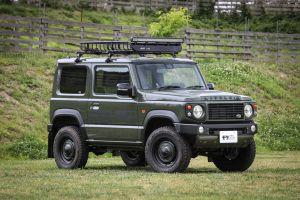 ФОТО: Как выглядит Suzuki Jimny после стилизации под Дефендер