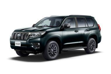 Внедорожник Toyota Land Cruiser Prado стал мощнее