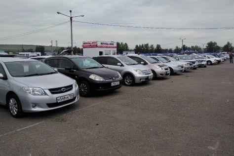 Авторынок Красноярска: покупатели приходили с конкретной целью
