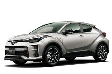 Toyota слегка обновила кроссовер C-HR