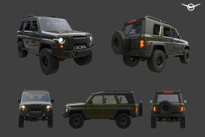 УАЗ пытается выдать за инфоповод любительский дизайн-проект