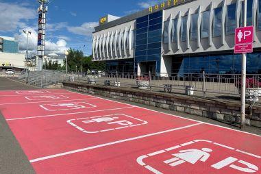 ГИБДД не понравилась первая в России женская парковка