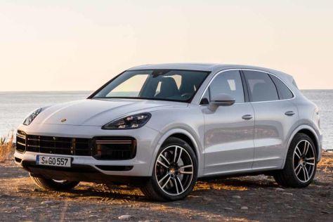В России отзывают почти 500 Porsche Cayenne (могут сгореть)