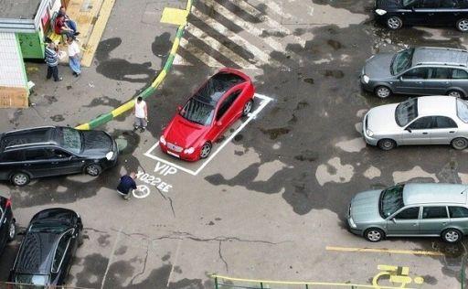 Россияне перестали ставить автомобили на ночные парковки