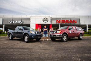 Проехавший 1,6 млн км пикап Nissan Frontier стал музейным экспонатом