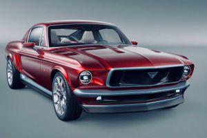 Новые ФОТО электрического Ford Mustang российской разработки