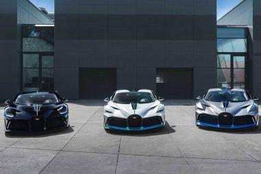 Bugatti передала клиентам первые экземпляры гиперкара Divo стоимостью более $5,9 млн