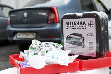Минздрав хочет изменить состав автомобильных аптечек