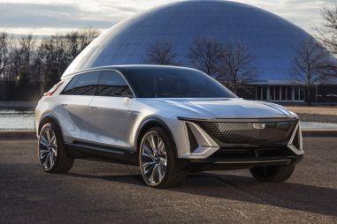 Концепт Cadillac LYRIQ показал вектор развития дизайна американского бренда
