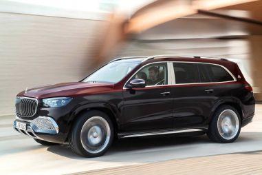 На роскошный внедорожник Mercedes-Maybach GLS 600 навесили российский ценник