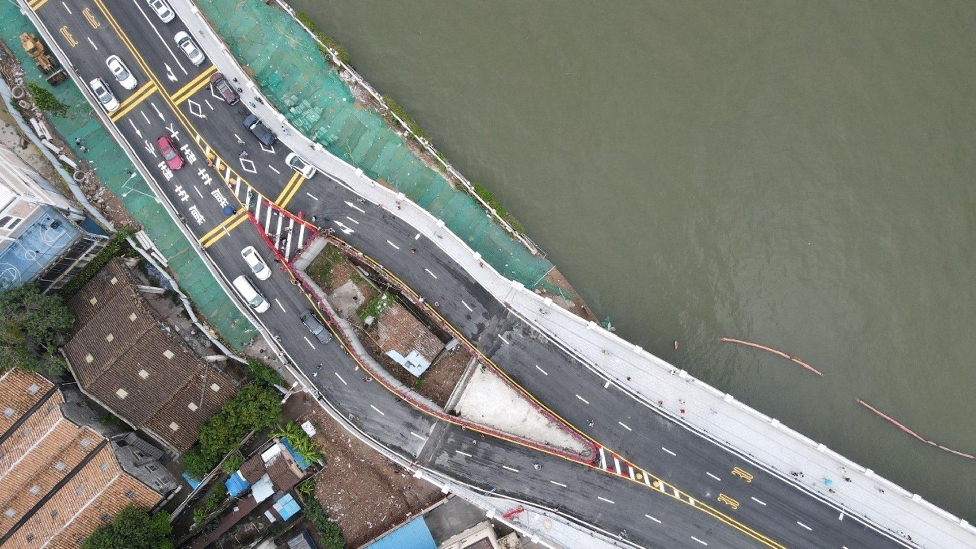 Обои трассы, дома, Япония, путепровод. Города foto 7