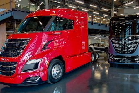 Производитель электрических грузовиков Nikola получил заказ на 2500 мусоровозов