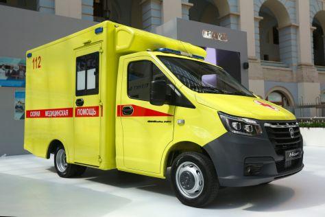 ГАЗ показал скорую помощь на базе новой ГАЗели New Next