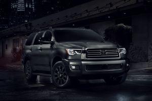 Toyota Sequoia получил затемненную спецверсию Nightshade